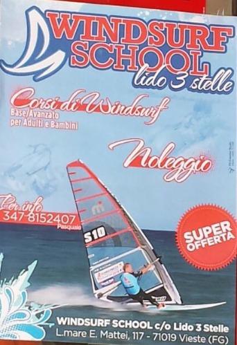 Scuola windsurf vieste