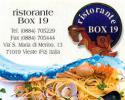 Ristorante Box 19 Vieste Puglia Italy